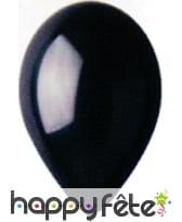 Ballons noir ébène