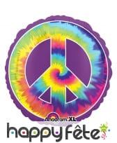 Ballon peace and love de 81cm