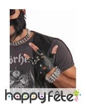 Bracelet punk à pics, image 1
