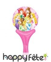 Ballon princesses Disney de 15 x 30cm