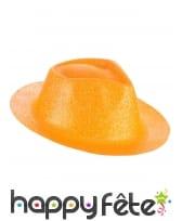 Borsalino pailleté en plastique fin, image 4