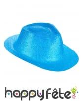 Borsalino pailleté en plastique fin, image 8