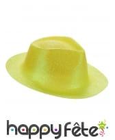 Borsalino pailleté en plastique fin, image 9