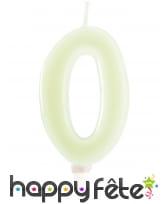 Bougies phosphorescentes en chiffres de 6 cm, image 2