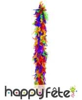 Boa plumes multicolores 180 cm