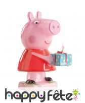 Bougie Peppa Pig décorative