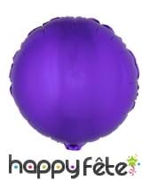 Ballon rond aluminium de 45cm, image 1