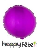 Ballon rond aluminium de 45cm, image 2