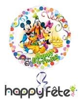 Ballon rond de Mickey and friends de 43 cm
