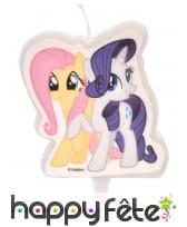 Bougie Rainbow Dash et Twilight Sparkle, 6,5 cm, image 2