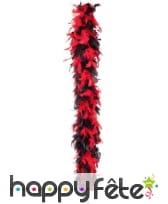 Boa rouge et noir de 1.8m