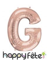 Ballon rose géant en forme de Lettre, image 24
