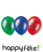 Ballons ronds imprimé Pjmasks