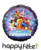 Ballon rond Lego La Grande Aventure de 43 cm