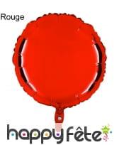 Ballon rond métallisé, image 10