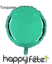 Ballon rond métallisé, image 11