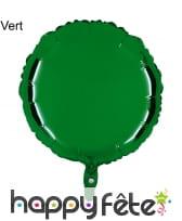 Ballon rond métallisé, image 12
