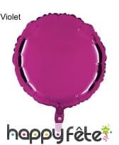 Ballon rond métallisé, image 13