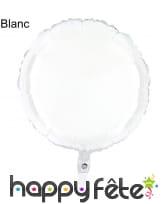 Ballon rond métallisé, image 2