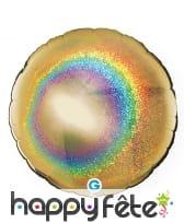 Ballon rond métallisé, image 15
