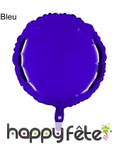 Ballon rond métallisé, image 3