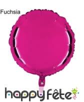 Ballon rond métallisé, image 4