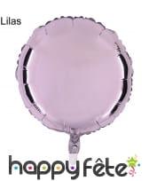 Ballon rond métallisé, image 5