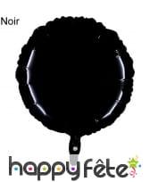 Ballon rond métallisé, image 6
