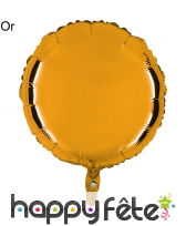Ballon rond métallisé, image 7