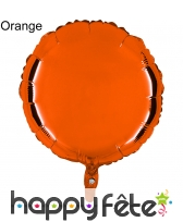 Ballon rond métallisé, image 8