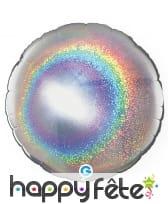 Ballon rond métallisé, image 14