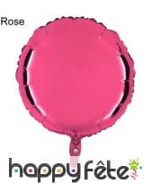 Ballon rond métallisé, image 9