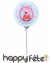 Ballon rond Peppa Pig de 23 cm