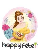 Ballon rond princesse Belle de 43 cm
