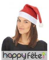 Bonnet rouge souple de père Noël, image 1