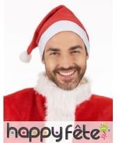 Bonnet rouge souple de père Noël, image 2