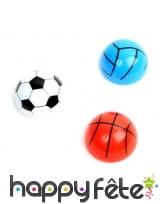 Ballon sport 4cm rétrofriction assortis