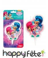 Bougie Shimmer and Shine d'anniversaire, 7cm, image 1