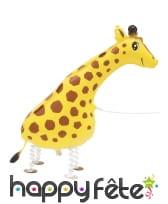 Ballon silhouette de girafe, 86 cm