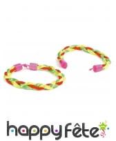 Bracelet tressé brésilien de 18 cm