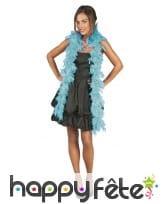 Boa turquoise de 50g et 180cm