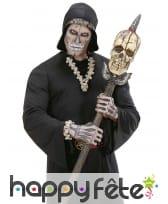Bracelet tetes de mort et os, image 3