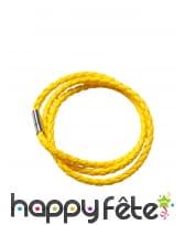 Bracelet tressé fluo, image 3
