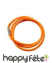 Bracelet tressé fluo, image 4