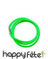 Bracelet tressé fluo, image 5
