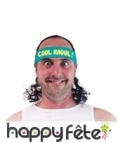 Bandeau vert Cool Raoul avec coupe mulet