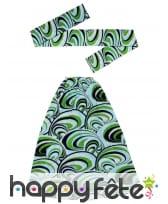Bandeau vert et jambières années 70, image 1