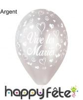 Ballons vive les mariés, image 1