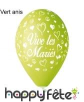Ballons vive les mariés, image 11