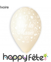 Ballons vive les mariés, image 6